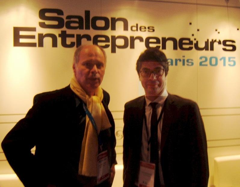 Interview laurent baccouche salon des entrepreneurs 2015 for Salon des entrepreneurs 2016
