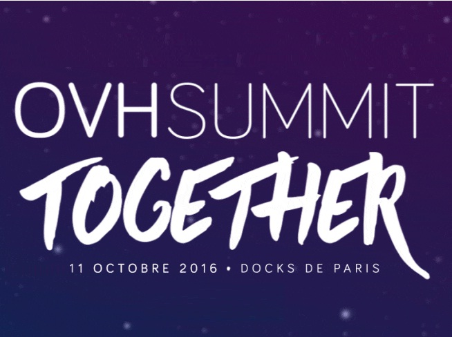 OVH Summit 2016