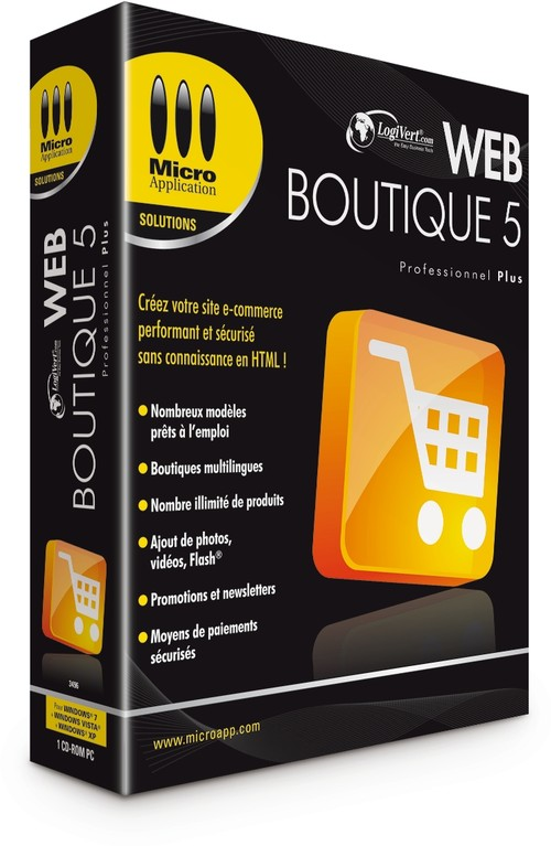 Web Boutique de Micro pplication